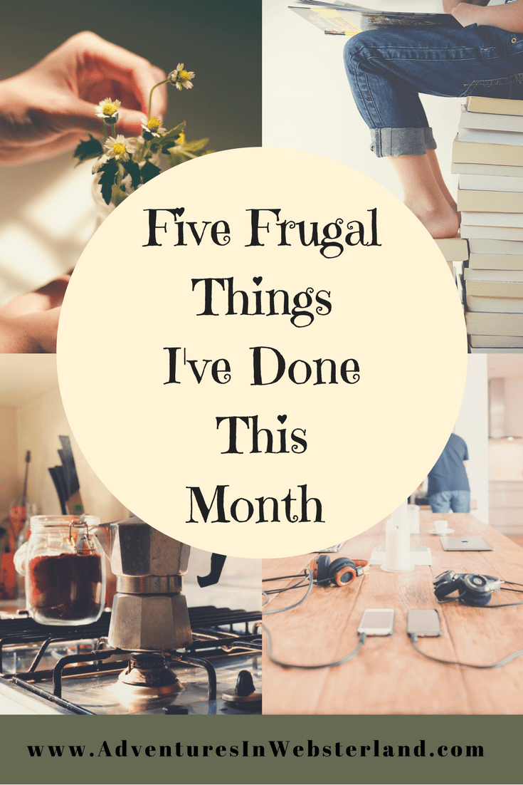 Five Frugal Things For January {2018}
