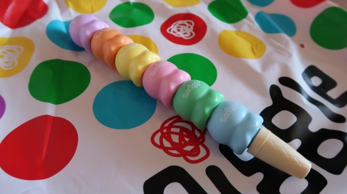 smiggle stacked ice cream cone multicolor pen
