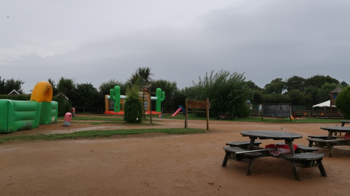 outdoor play area aMaizin! adventure park jersey