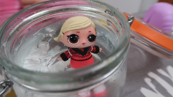 L.O.L Surprise! doll in cold water