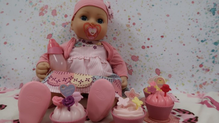 baby annabell my special day doll and acessories