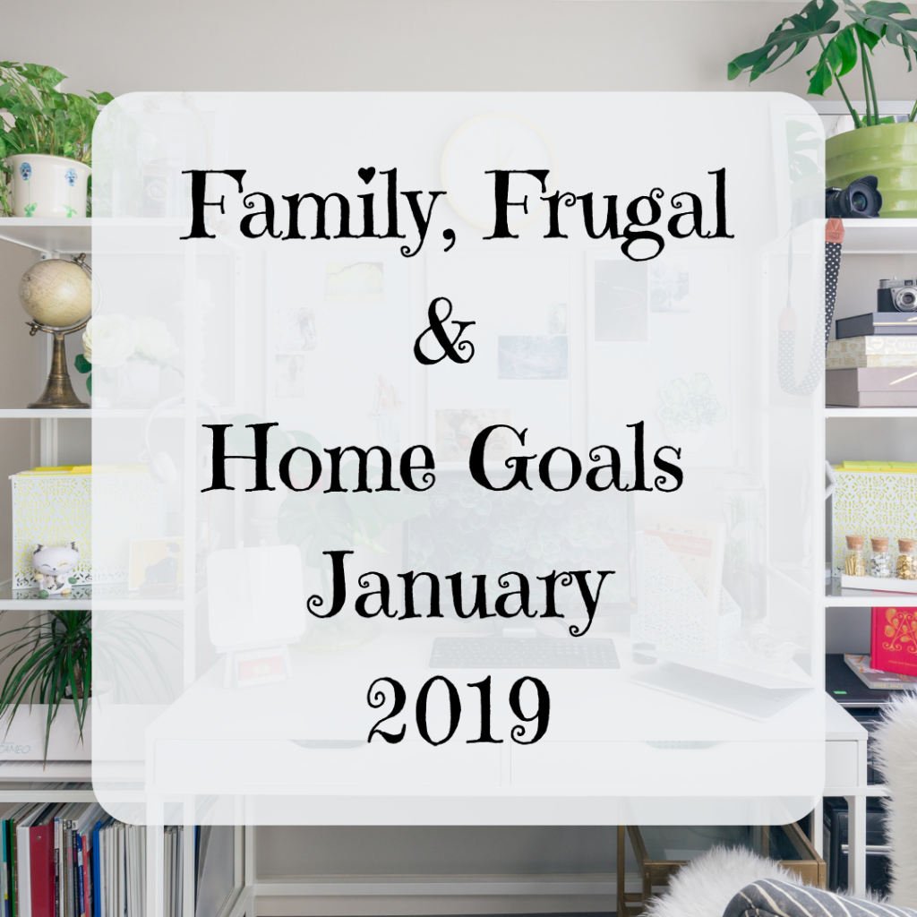 Goals For January {2019}