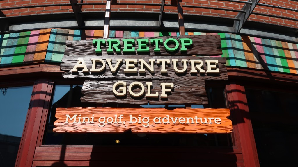 Treetop Adventure Golf Manchester {Review}