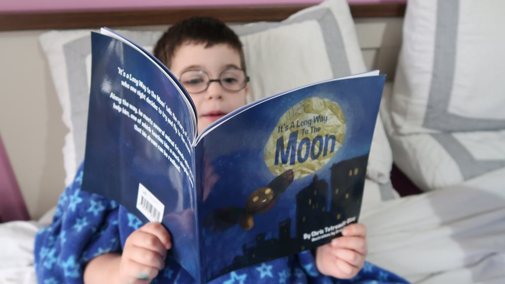 It's A Long Way To The Moon {Book Review}