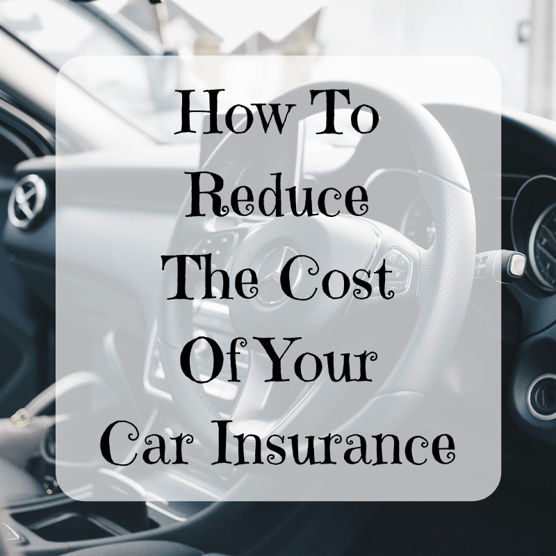 How To Reduce The Cost Of Your Car Insurance
