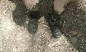 I sunk in Mud