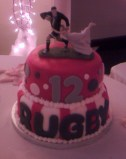 Rugby Groom's Cake