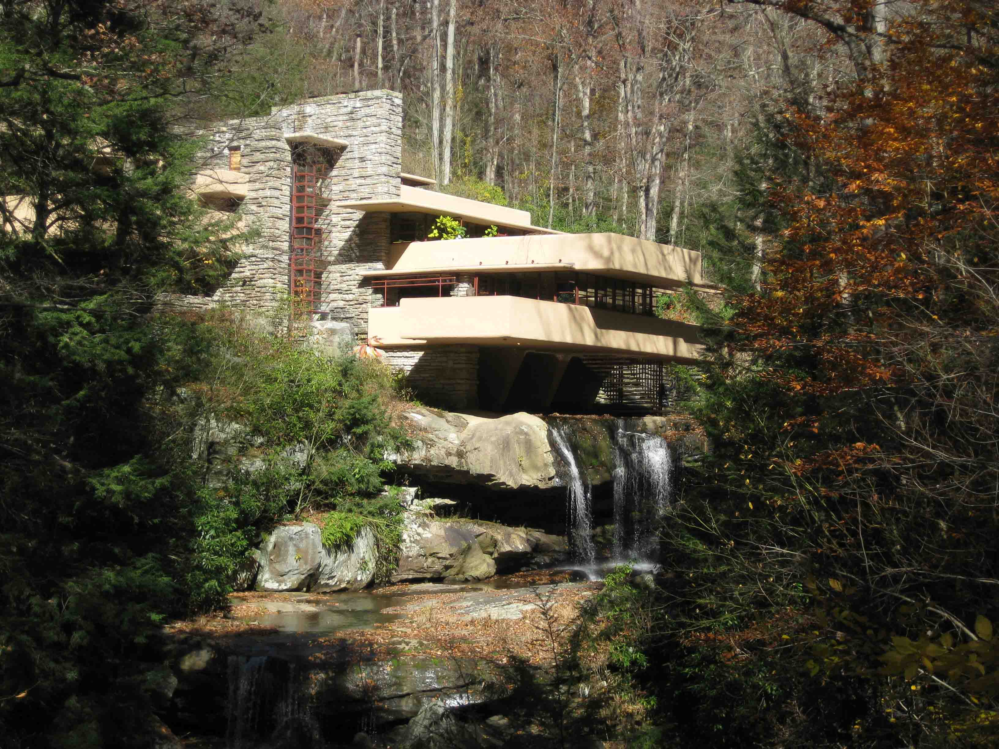 Frank Lloyd Wright Falling Water Wallpaper Fallingwater Etb Travel Photography