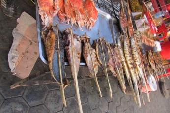 Fish Market near Kampot, Cambodia