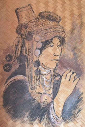 Sketch at the Hill Tribe Museum