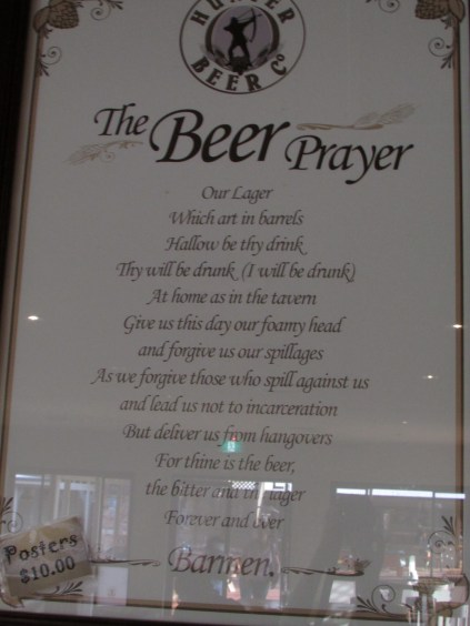 Not a bad prayer there.