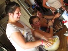 The making of German Potato Cakes
