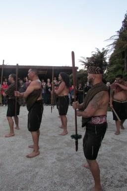 Mauri welcoming ceremony