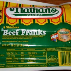 Pick Up Sofa Today Italian Leather And Loveseat Nathan's Famous Beef Franks Are Now Gluten-free!!