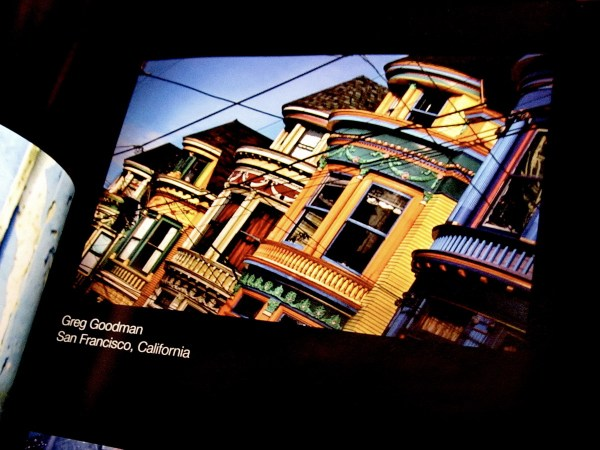 My San Francisco Painted Ladies photo; as seen in the 2012 One Life Annual