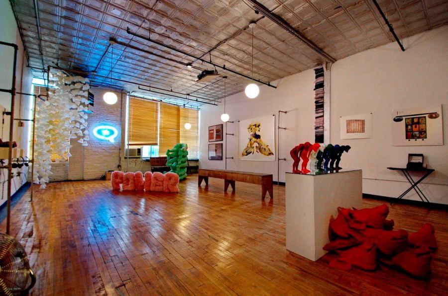The Beginning of a New Era exhibition at 56 Bogart Street in Bushwick, Brooklyn - 2013-06-02