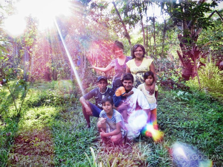 This amazing local family lives on Paititi's land and helps keep the place running in every way possible.