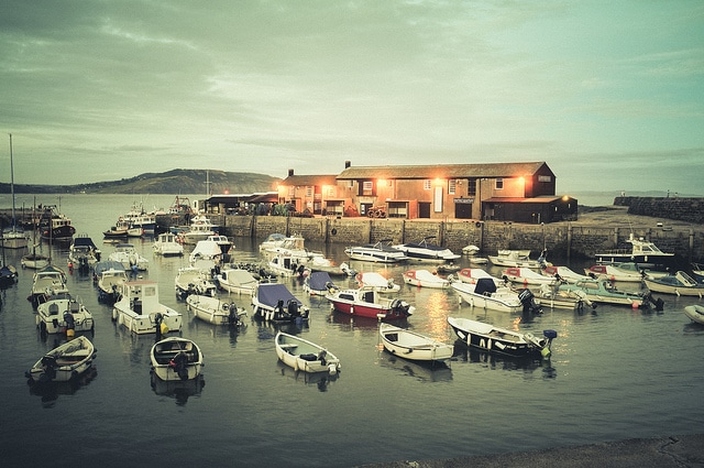 Lyme Regis (Photograph by Kevin Botto