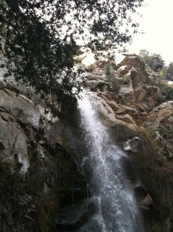 Eaton Canyon Waterfall. Picture taken by J.M. Weir