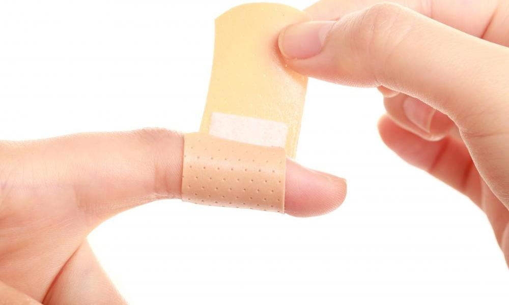 For Parents – Hack: Put a Band-Aid On Your Finger