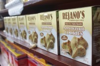 Rejano's Best Arrowroot cookies with Pinipig. A must try!