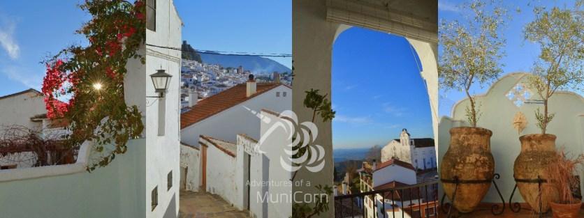 views of gaucin andalusia