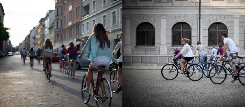 munich on bike