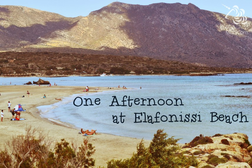 one afternoon at elafonissi beach