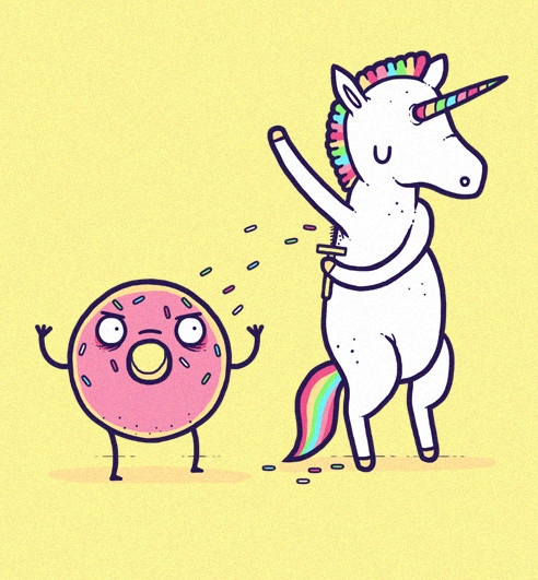 thats how sprinkled donuts are made