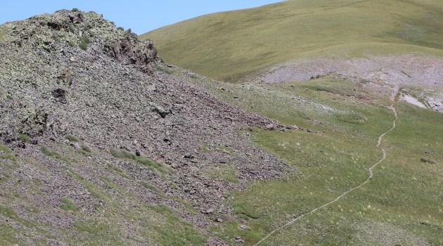 Trail to Delano Peak