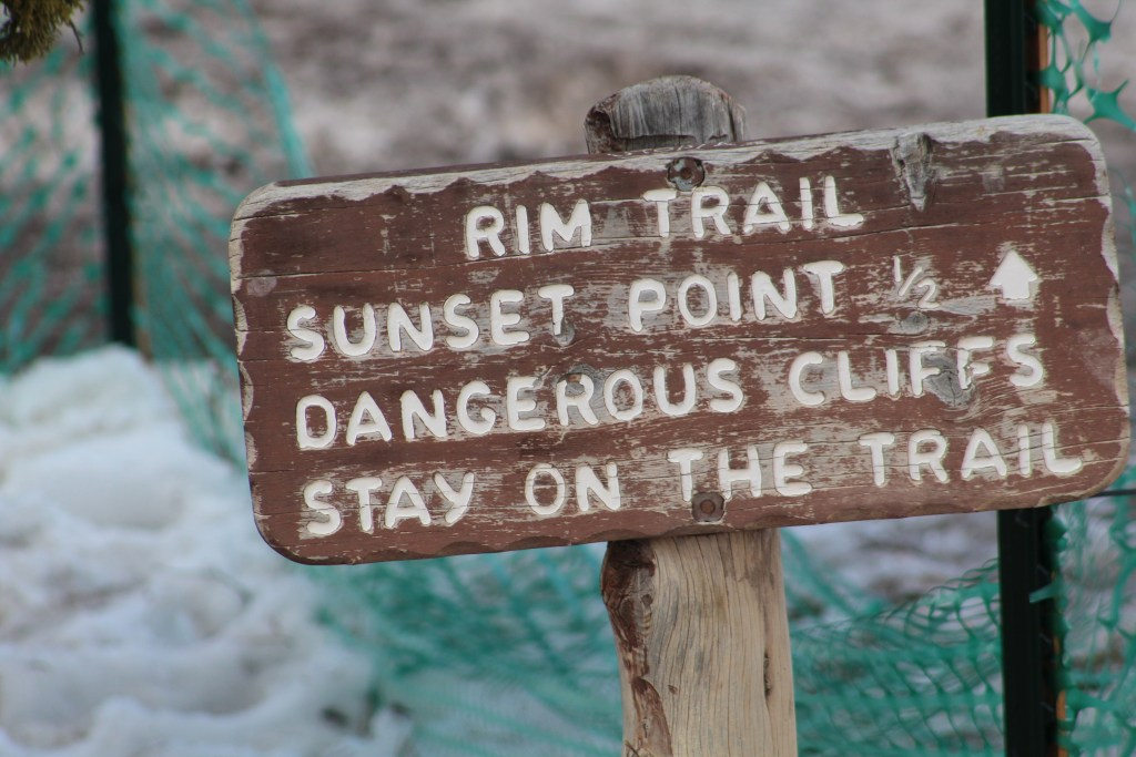 Rim Trail at Bryce Canyon National Park