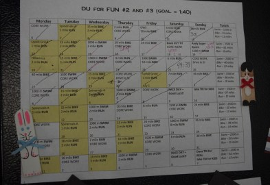 Duathlon Training Plan 001