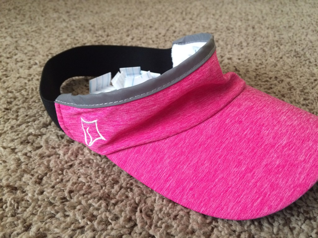 I literally drew a name out of a hat.  And not even really a hat, but a visor that was laying on the ground, because visors don't really hold slips of folded up paper with people's names on them, do they??