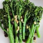 Broccolini, Broccoli Rabe Sauteed