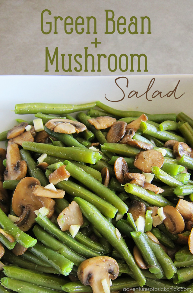 Green Bean and Mushroom Salad
