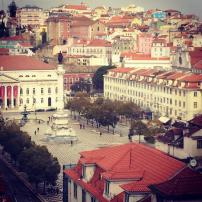 Stay Inn Hostel, Lisbon. Felt compelled to provide this incredible view of the city as well