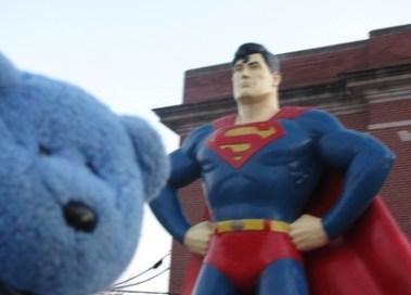 Superman & Blue Bear, Metropolis, IL