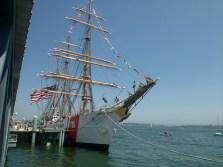 USS barque Eagle, Tall Ships festival, Portland,Maine