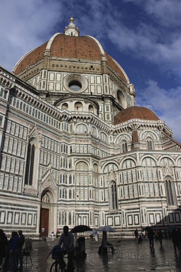 The Duomo on our visit to Florence