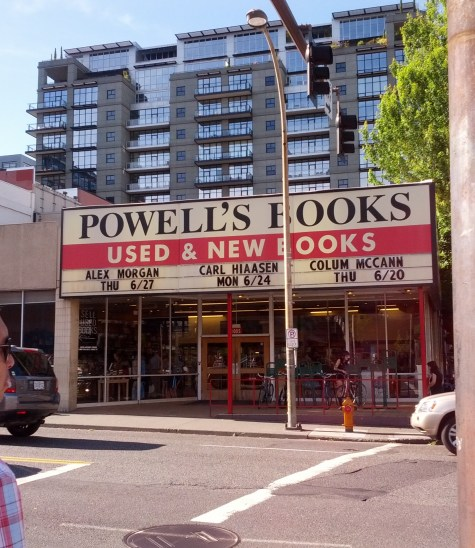 We couldn't resist a trip to Powell's, largest indie bookseller in the US
