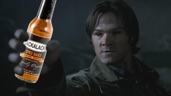 Even Demon Sam likes hot sauce.