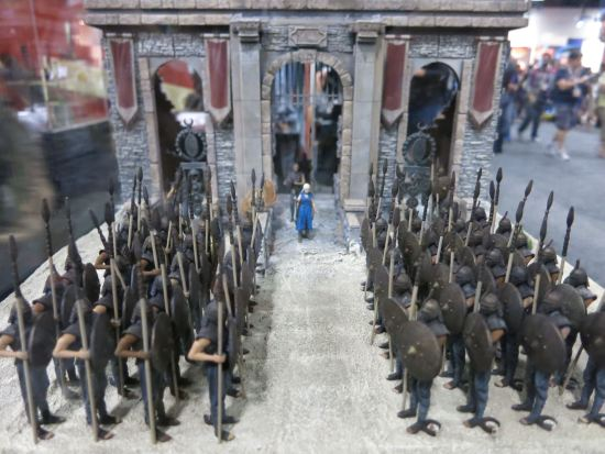 McFarlane toys Game of Thrones Khaleesi + Unsullied miniature building set.