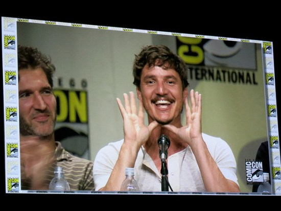 Sometimes you can capture amazing moments like this (Oberyn Martell lives! Game of Thrones 2014 panel)