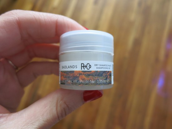 R+Co BADLANDS Dry Shampoo Paste | Birchbox sample