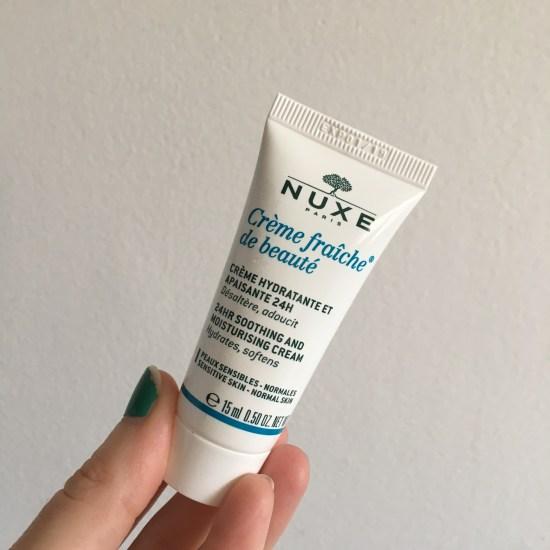 NUXE Moisturizer Cream Crème Fraiche® de Beauté   Birchbox
