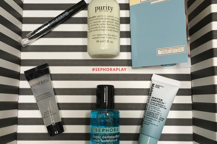 Play! by Sephora April 2017 Samples