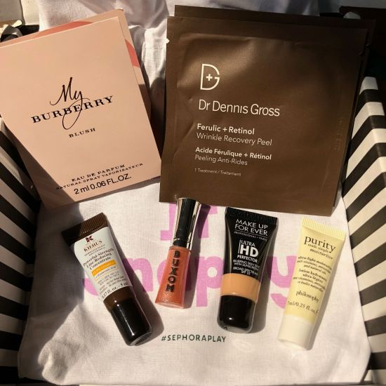 April 2018 Play! by Sephora Samples