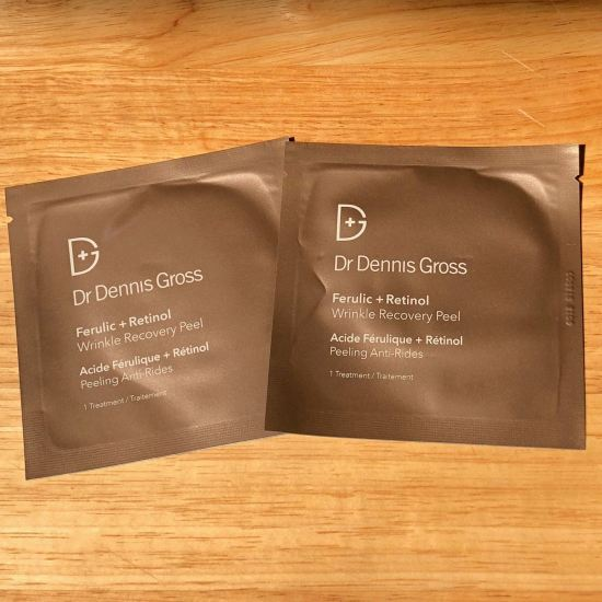 Dr. Dennis Gross Ferulic + Retinol Wrinkle Recovery Peel | Play! by Sephora