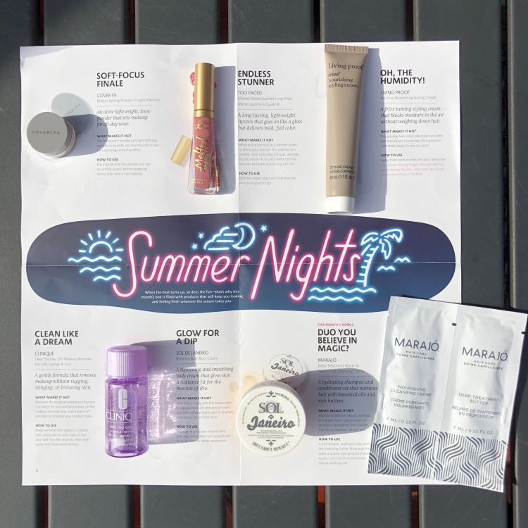 Play! by Sephora June 2018: Summer Nights