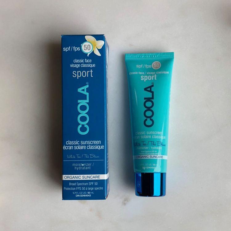 COOLA Face Sport SPF 50 White Tea Moisturizer | FabFitFun